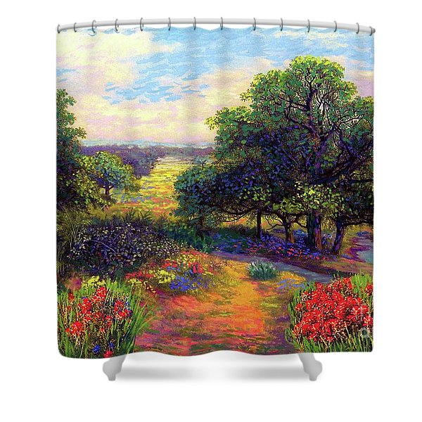 Wildflower Meadows Of Color And Joy Shower Curtain