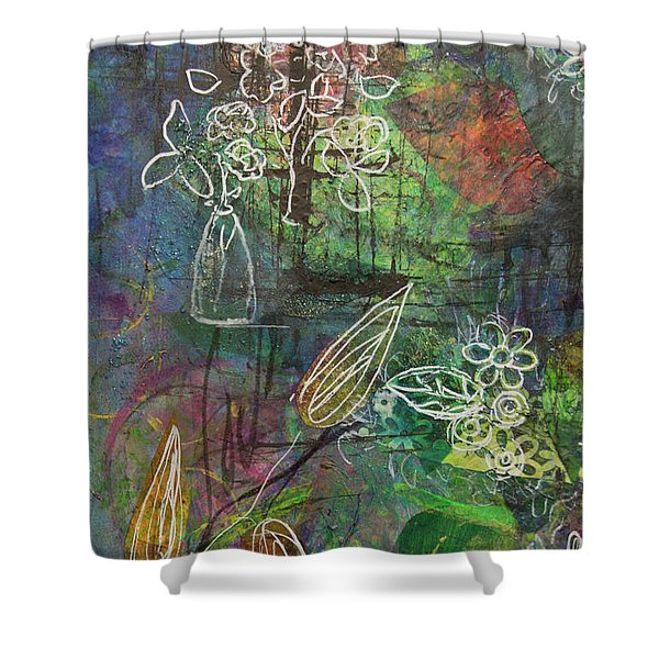 Wildflower Shower Curtain