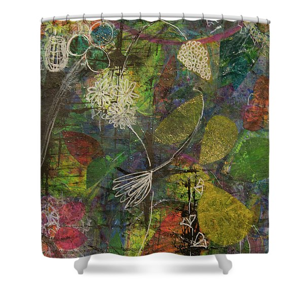 Wildflower Two Shower Curtain