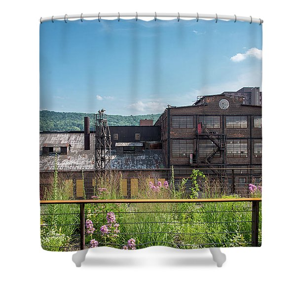 Wildflowers At Bethlehem Shower Curtain