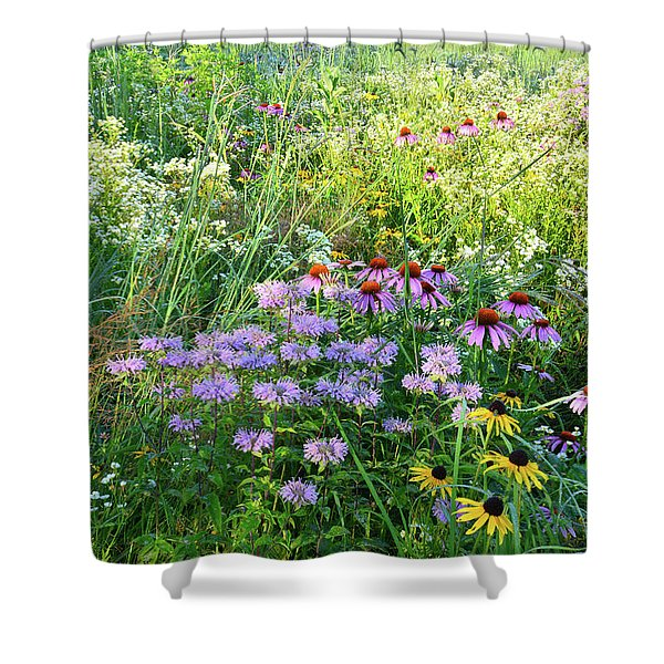 Wildflowers In Moraine Hills State Park Shower Curtain