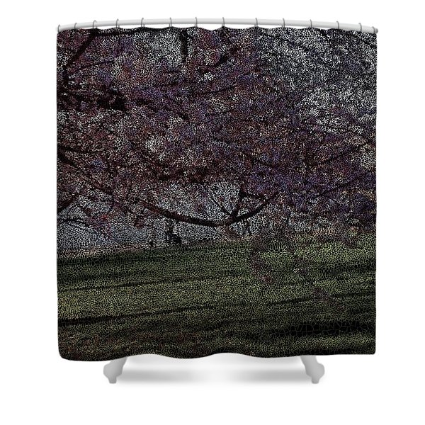 Wildflowers Party Shower Curtain