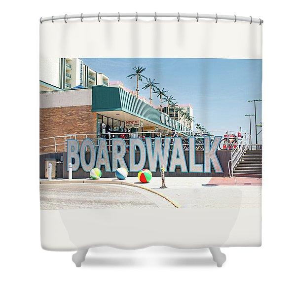 Wildwood Boardwalk Shower Curtain