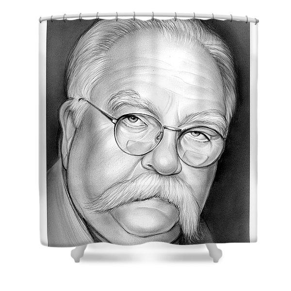 Wilford Brimley Shower Curtain