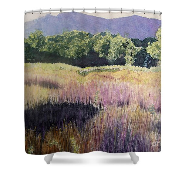 Willamette Meadow Shower Curtain
