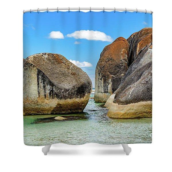 William Bay 2 Shower Curtain