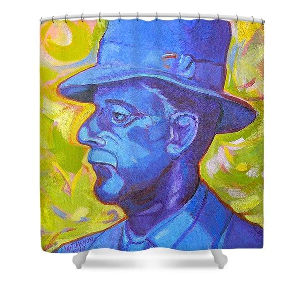William Faulkner Shower Curtain