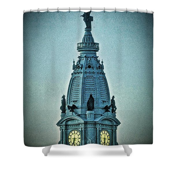 William Penn On Top Shower Curtain