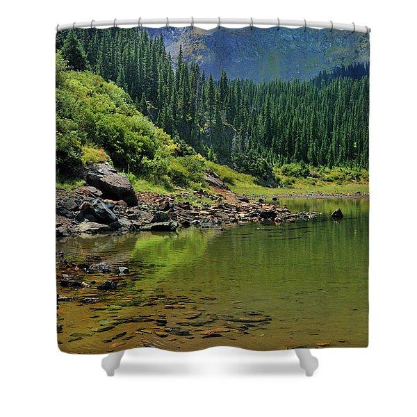 Williams Lake Shower Curtain