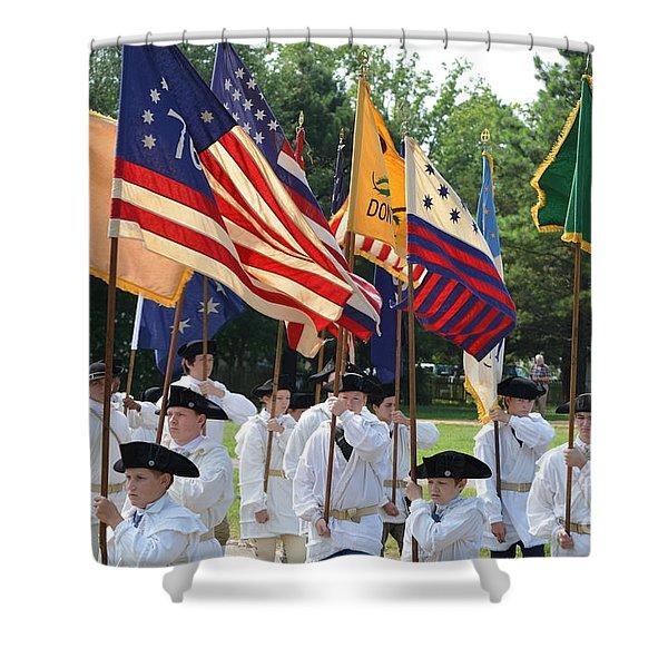 Williamsburg Shower Curtain