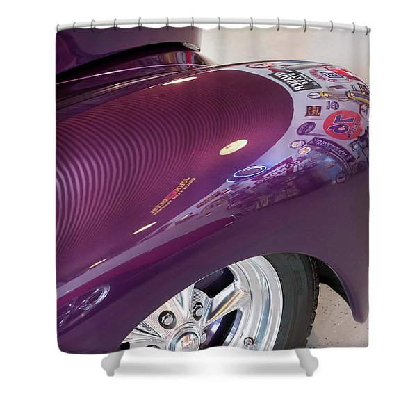 Willy's Fender Shower Curtain