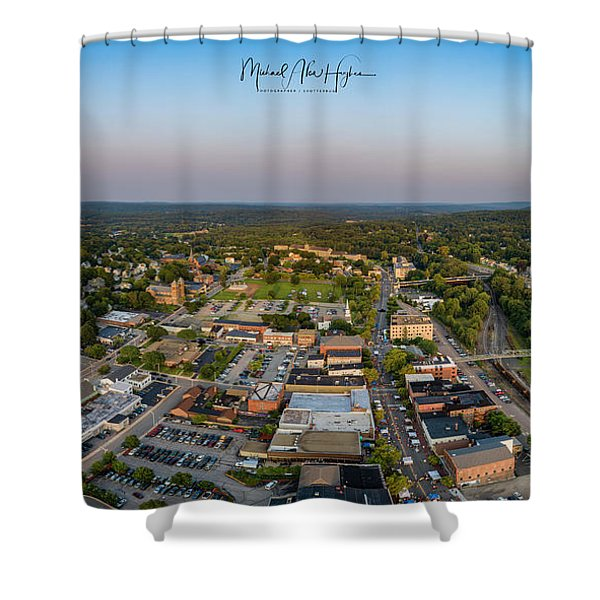 Willimantic Panorama Shower Curtain