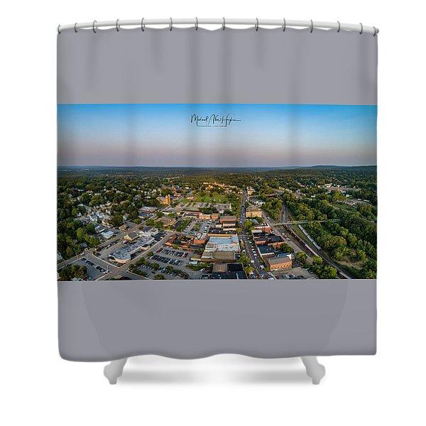 Willimantic Panorama Shower Curtain