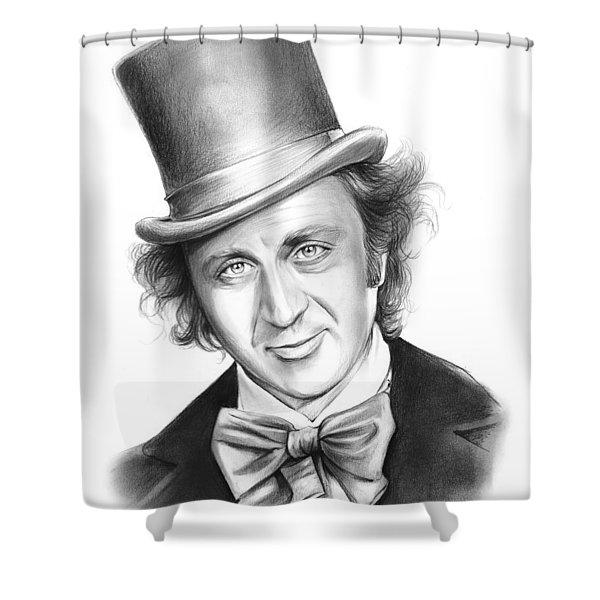 Willy Wonka Shower Curtain
