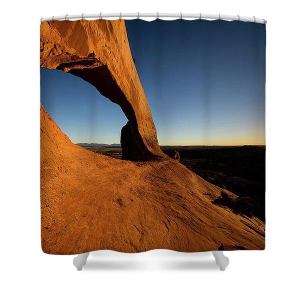 Wilson Arch 2 Shower Curtain