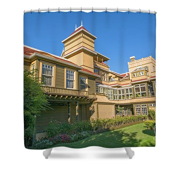 winchester mystery house San Jose California USA 3 Shower Curtain