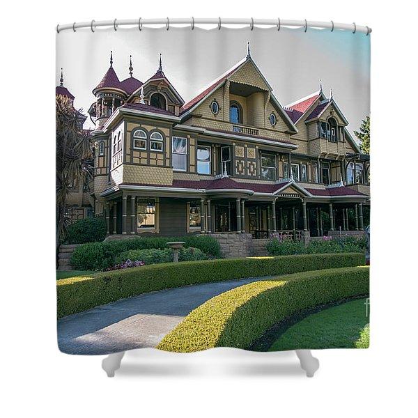 winchester mystery house San Jose California USA 7 Shower Curtain