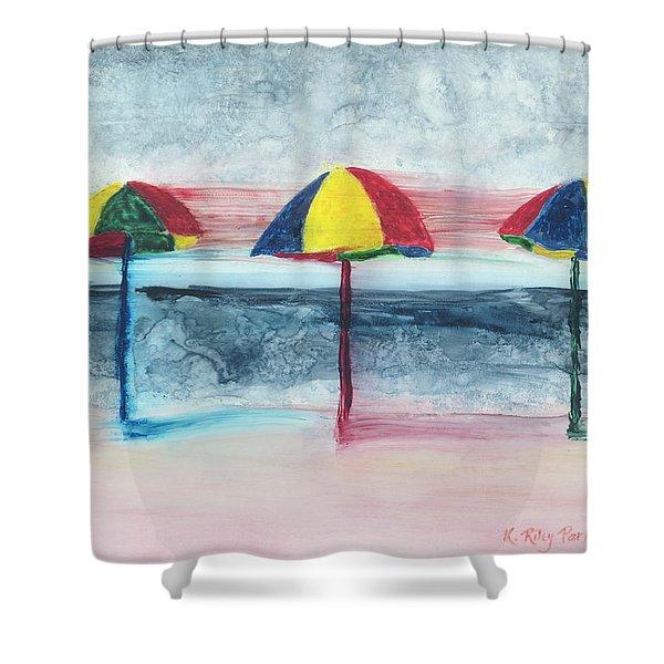 Wind Ensemble Shower Curtain