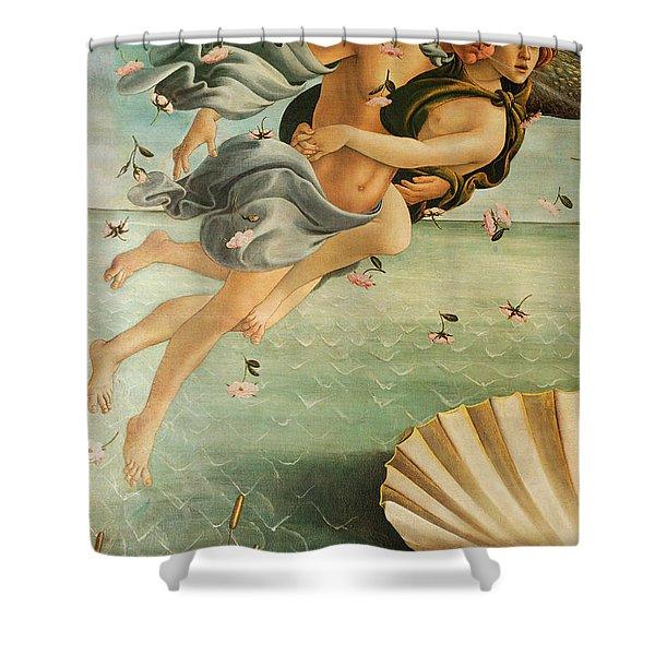 Wind God Zephyr Shower Curtain