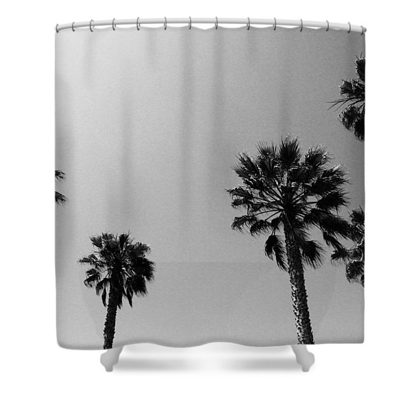 Wind In The Palms- By Linda Woods Shower Curtain