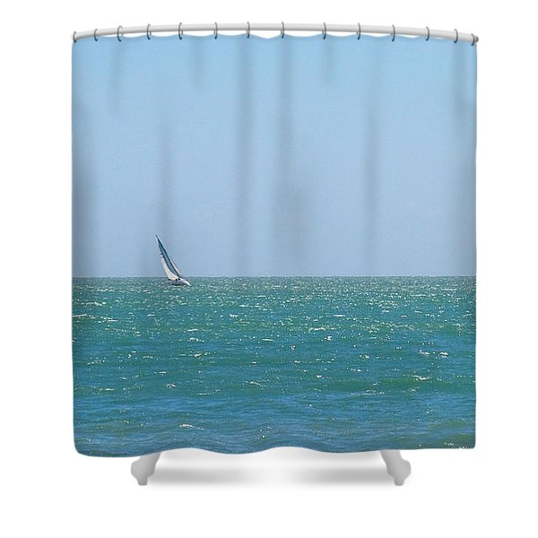 Wind In The Sails Shower Curtain