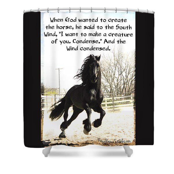 Wind In Your Mist Shower Curtain