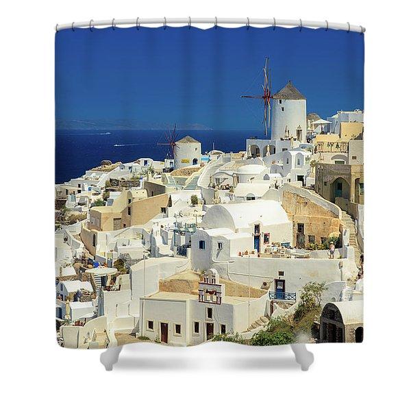 Wind Mills  Shower Curtain