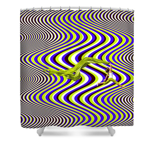 Wind Of Freedom Shower Curtain