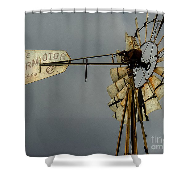 Windmill 1 Shower Curtain