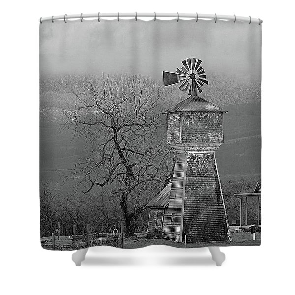 Windmill Of Old Shower Curtain