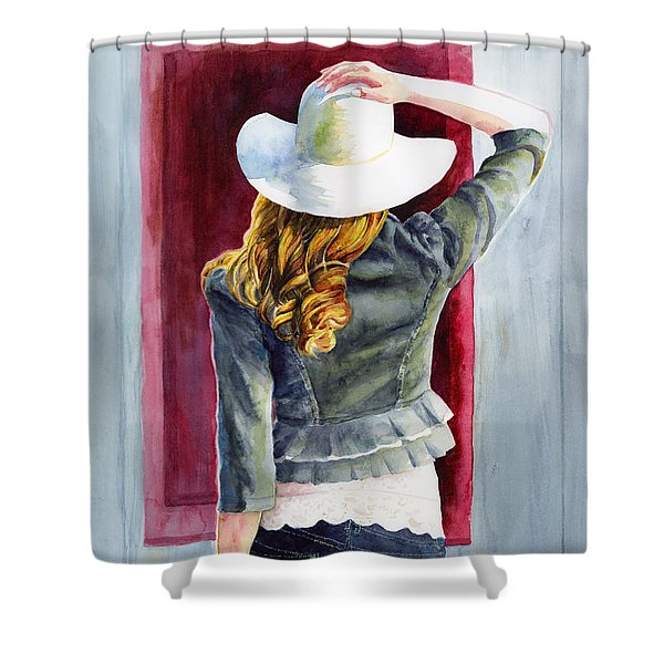 Window Of Time Shower Curtain