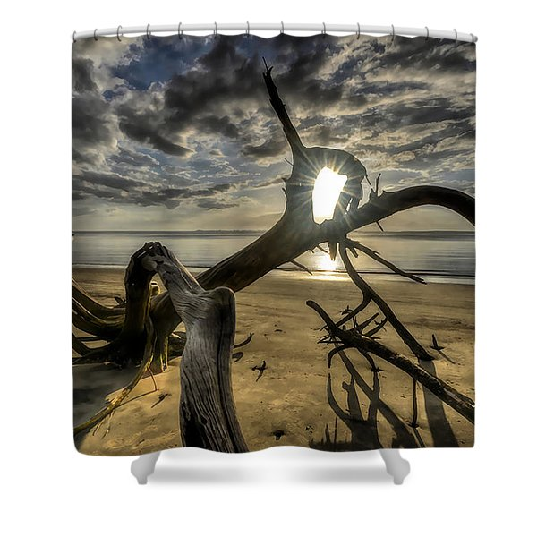 Window To The Sun Shower Curtain
