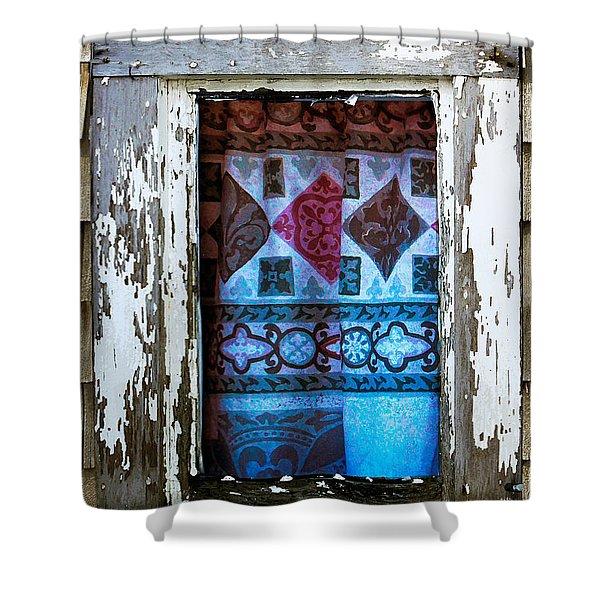 Window Toward The Sea Shower Curtain