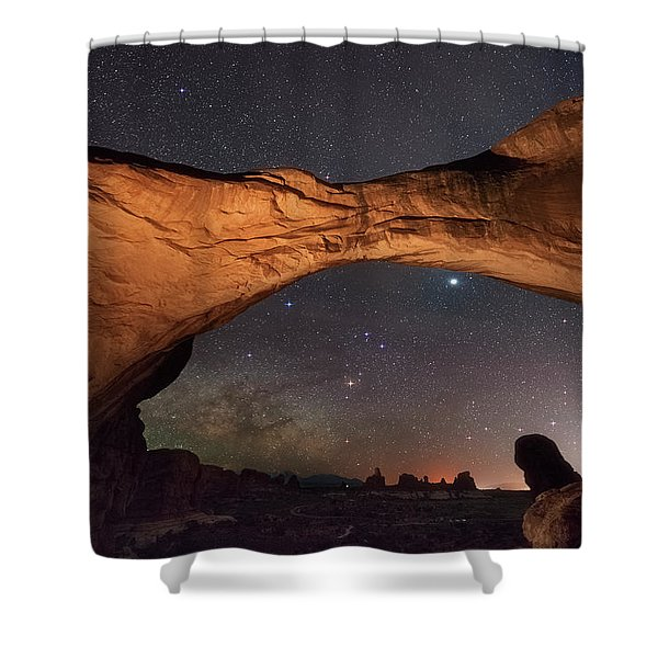 Windows To Heaven Shower Curtain