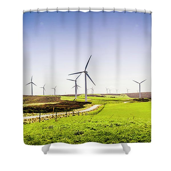 Winds From West Woolnorth Shower Curtain