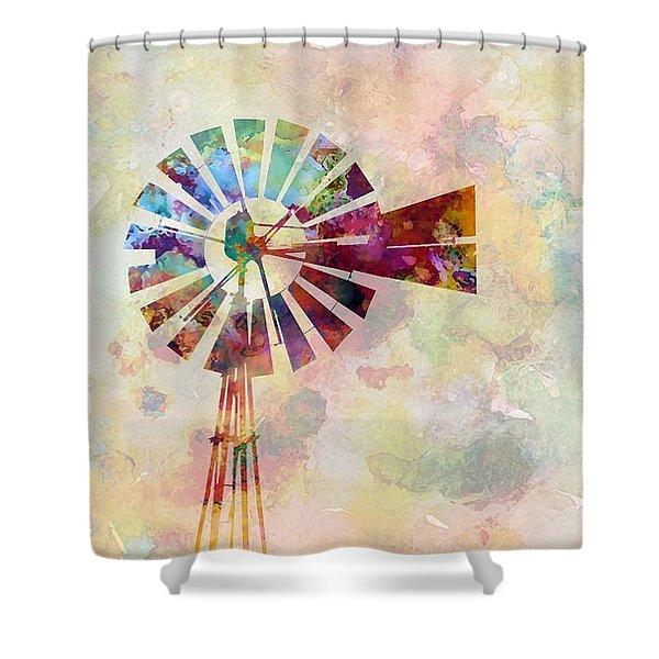 Winds Of Iowa Shower Curtain
