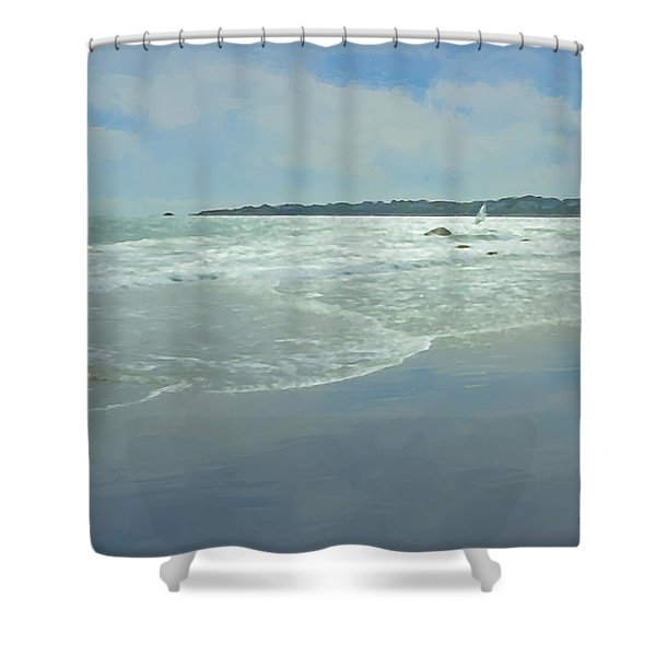Windsurfer Little Compton, Ri Shower Curtain