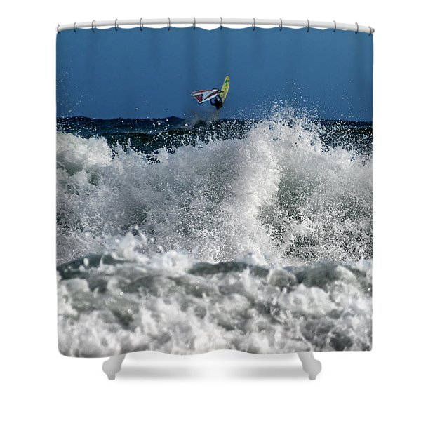 Windsurfer Shower Curtain