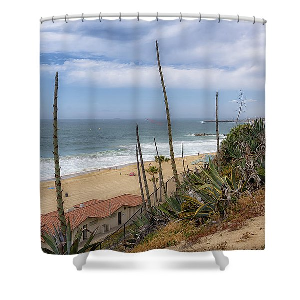 Windy On Redondo Shower Curtain