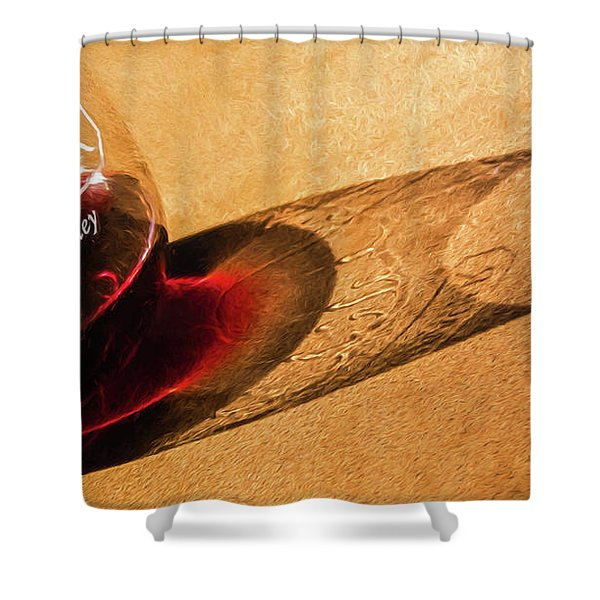 Wine Legs Of Napa Valley Shower Curtain