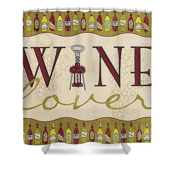 Wine Lover Shower Curtain
