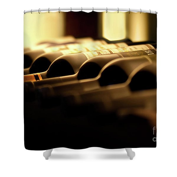 Wines Shower Curtain