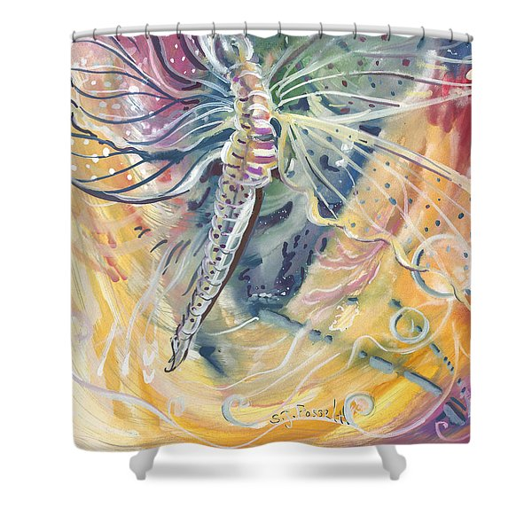Wings Of Transformation Shower Curtain