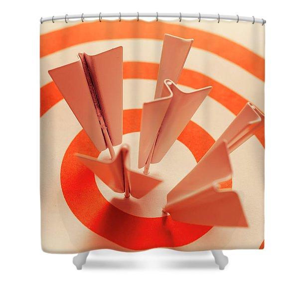 Winning Strategy Shower Curtain