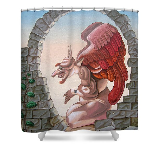 Winston Churchill, Shower Curtain