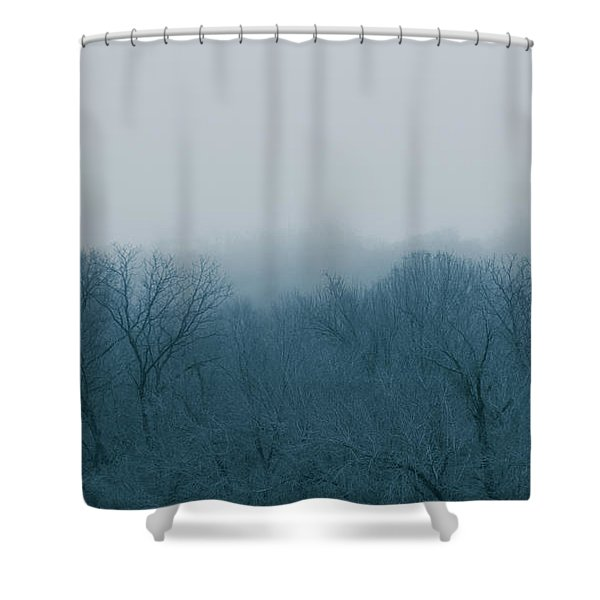 Winter Afternoon Shower Curtain