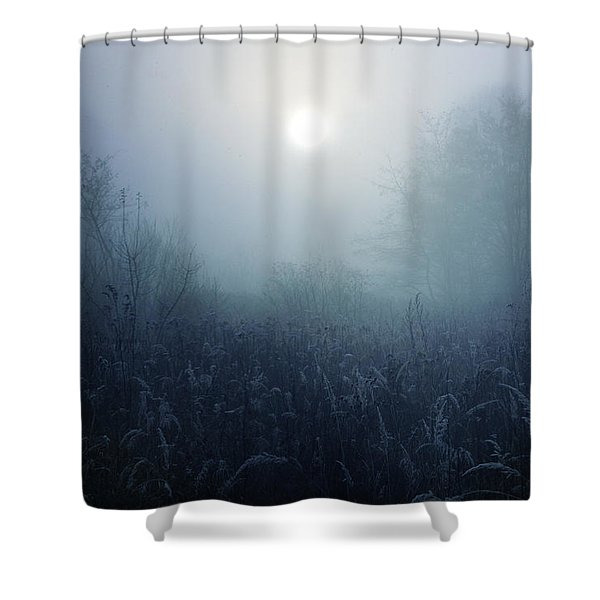 Winter Afternoon - Poland Shower Curtain