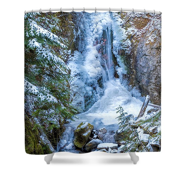 Winter Approaching Shower Curtain