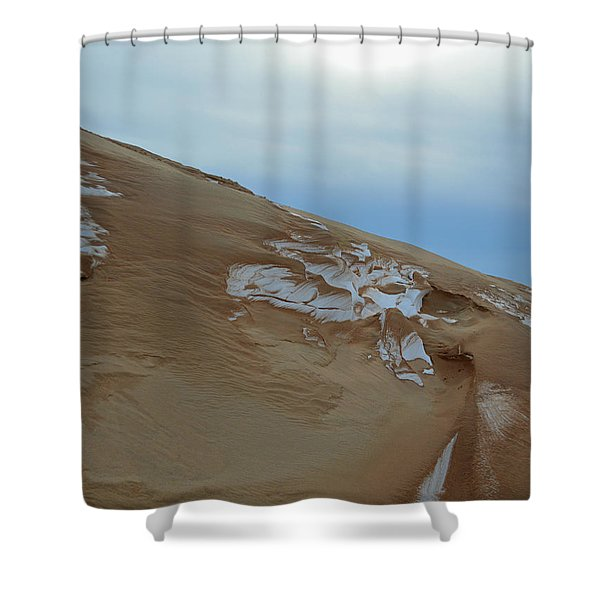 Winter Dune Shower Curtain