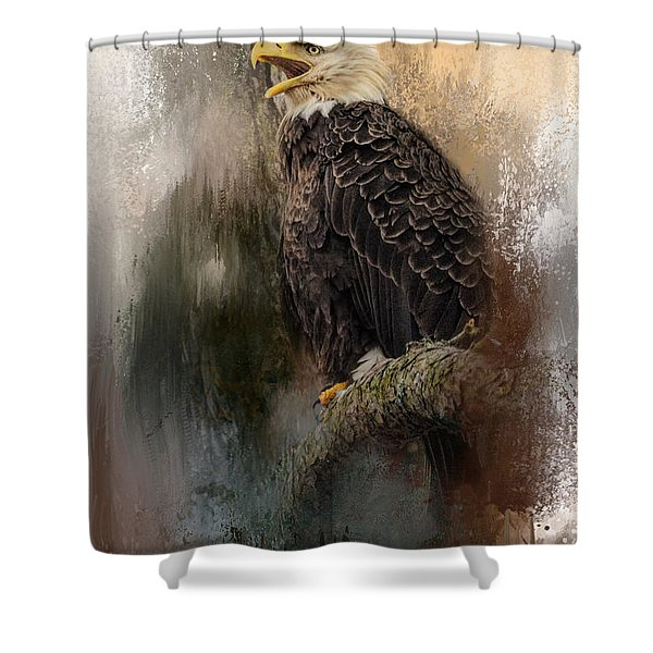 Winter Eagle 3 Shower Curtain